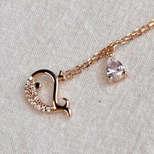 925 Silver Little Whale Set Chain Necklace